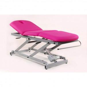 Lettino Da Massaggio Elettrico.Lettino Da Massaggio Elettrico Di 3 Corpi Con Piegatura Centrale