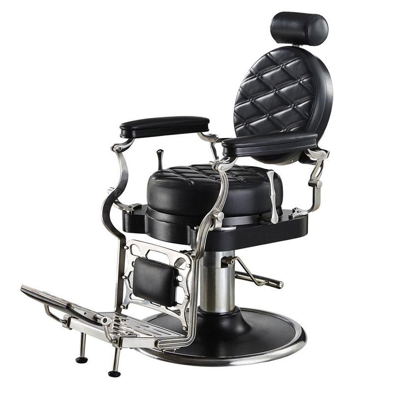 Poltrona da barbiere idraulica, reclinabile e girevole ...