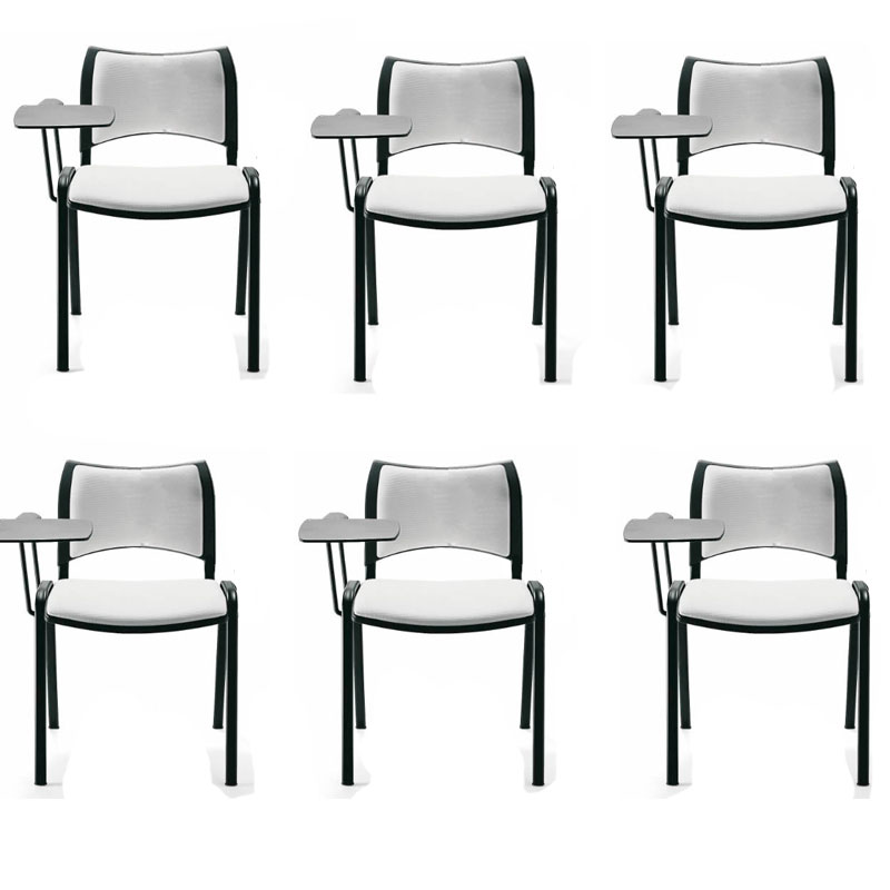 Pack 6 sedie confident iso smart structure schienale ...